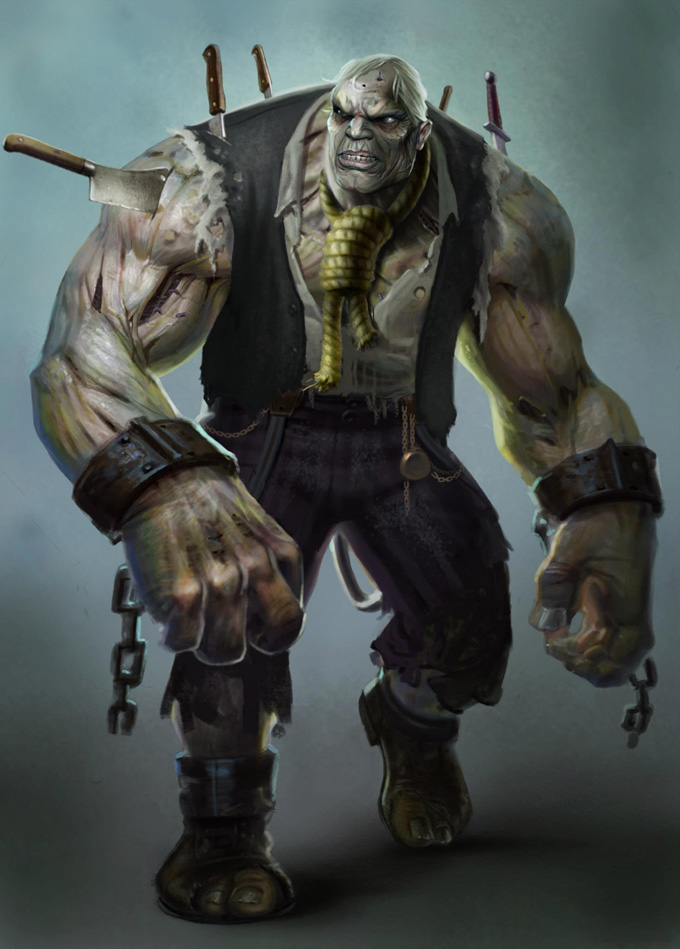 Injustice: Gods Among Us Solomon Grundy Concept Art