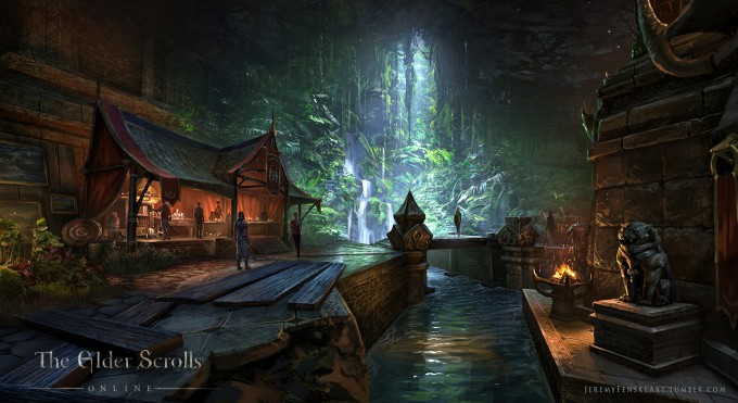 Jeremy_Fenske_Concept_Art_Illustration_17_Loadscreen_Outlaw_Refuge_Khajiit_01
