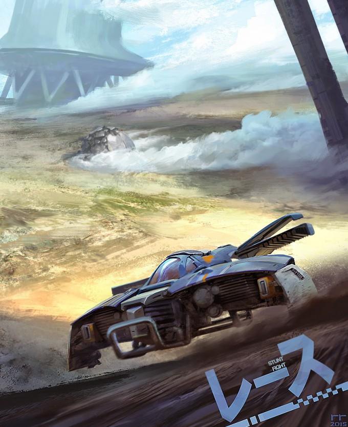 Roberto_Robert_Concept_Art_Racer_poster1