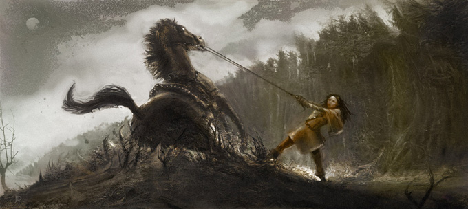 Snow White and the Huntsman Concept Art by John Dickenson