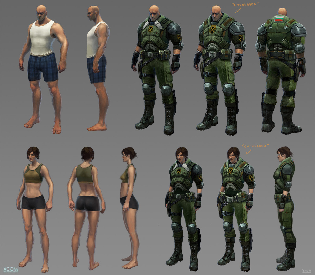 Xcom Enemy Within Concept Art - Viewing Gallery
