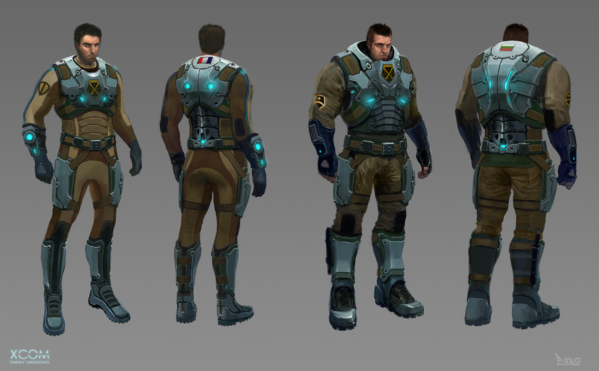 Concept Art World » XCOM: Enemy Unknown Character Designs by Piero ...
