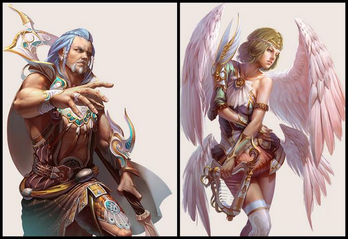 Yu Cheng Hong Concept Art and Illustration