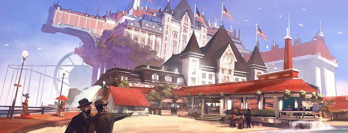Bioshock: Infinite Concept Art by Ben Lo
