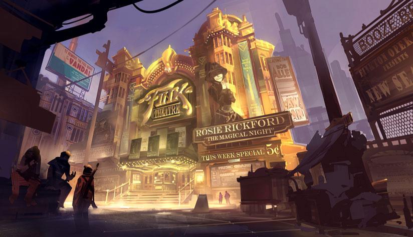 Bioshock Infinite Concept Art By Ben Lo Concept Art World