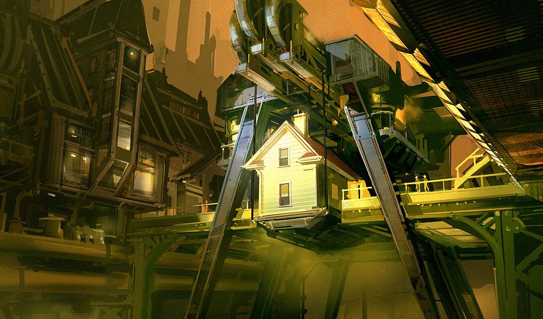Bioshock infinite concept art wallpaper