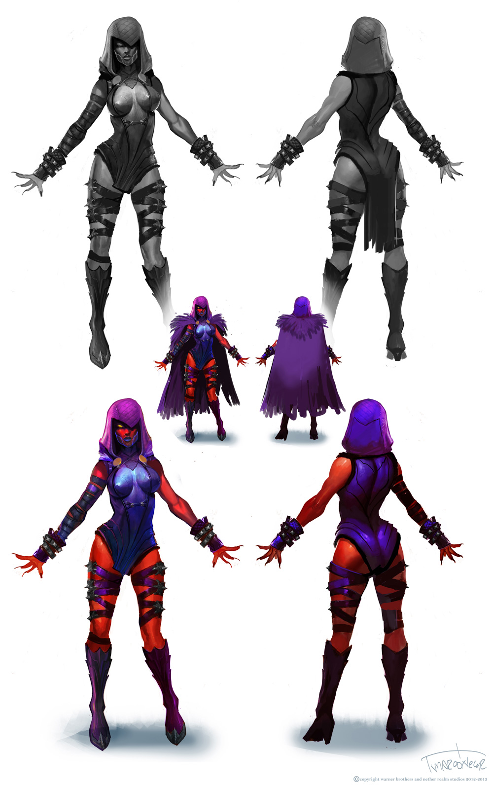 injustice gods among us concept art by marco nelor