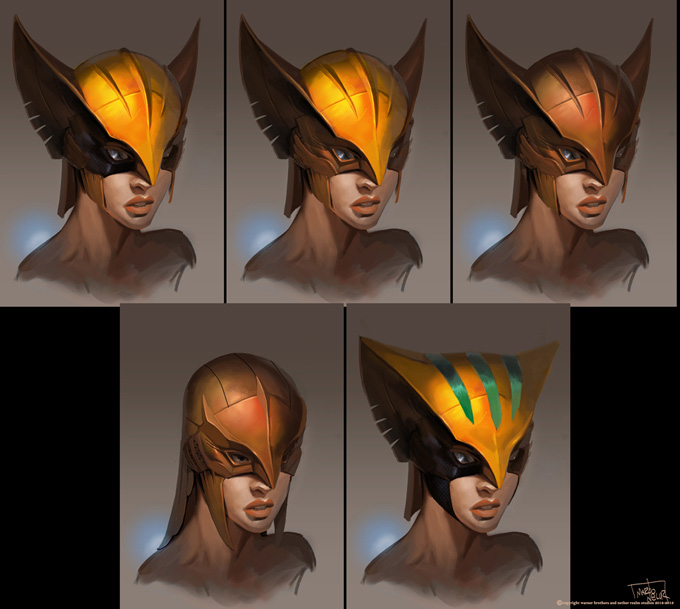 Injustice: Gods Among Us Concept Art by Marco Nelor