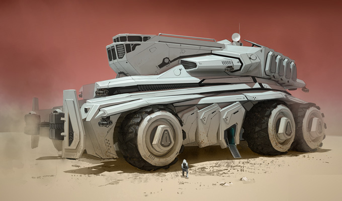 Darren Bartley Concept Art