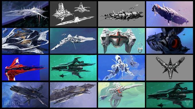 Bungie reveals more concept art at Destiny Panel - GDC 2013