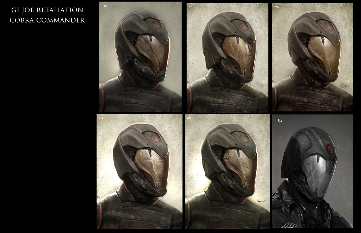 Cobra Commander Retaliation G I  Joe Retaliation Concept