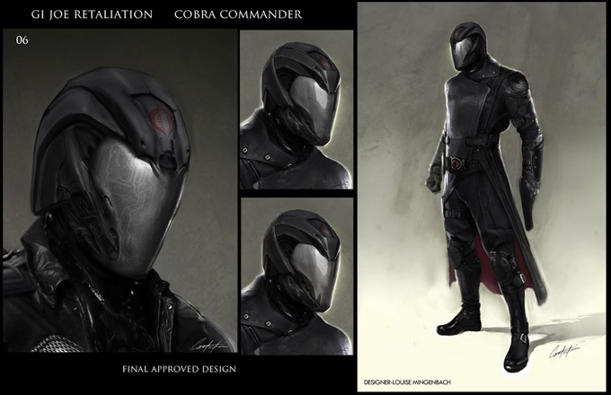 Cobra Commander Retaliation G.I. Joe: Retal...