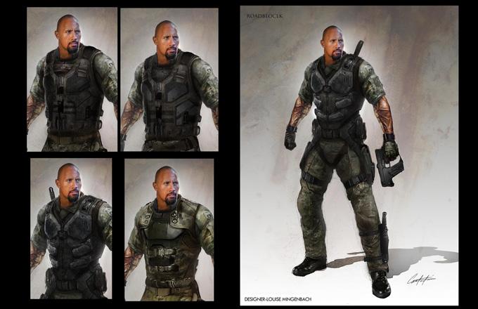 G.I. Joe: Retaliation Concept Art and Costume Design by Constantine Sekeris