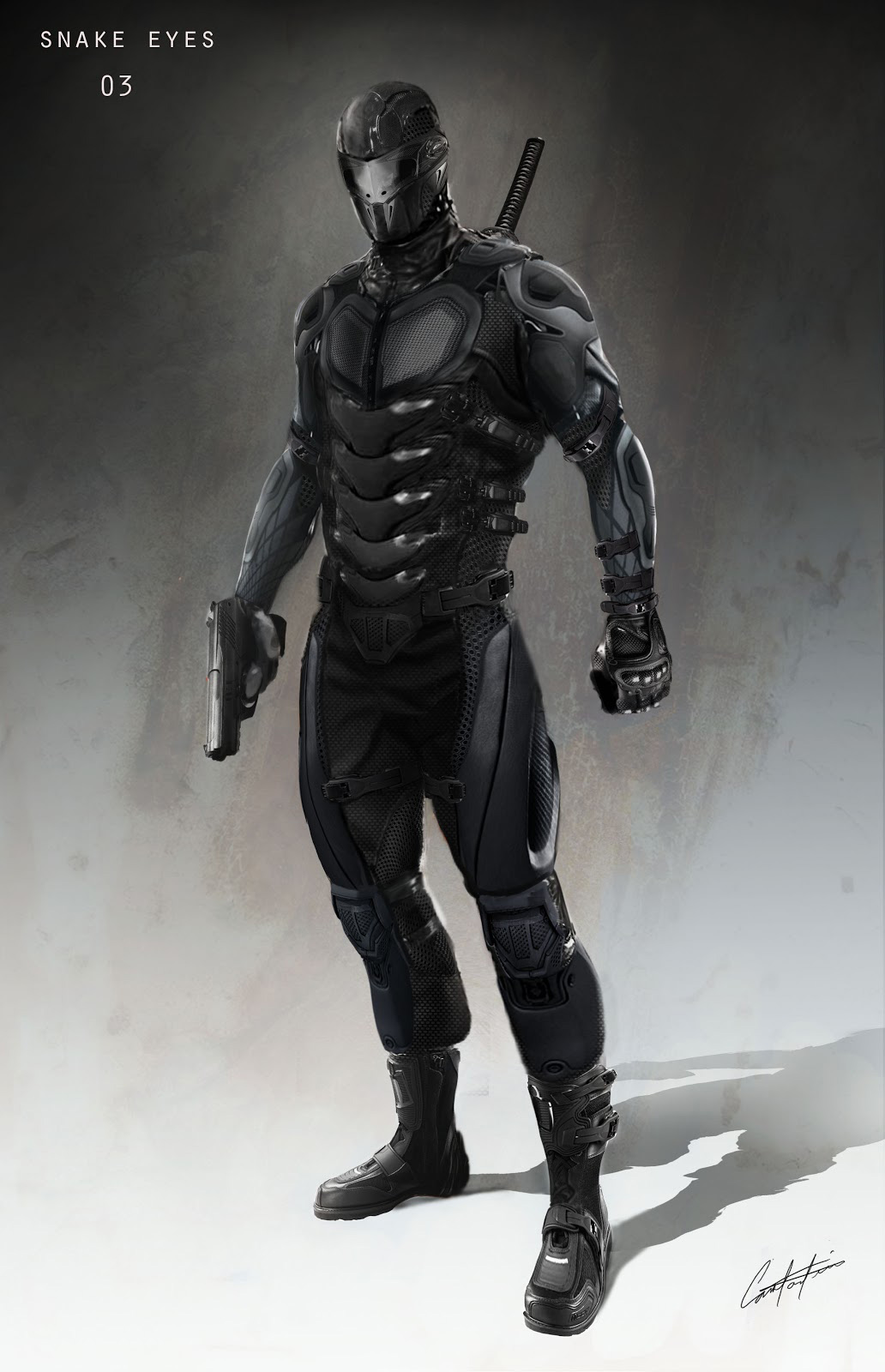 GI Joe Retaliation Concept Art And Character Designs By