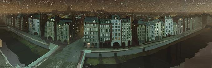 Les Miserables Concept Art by Karl Simon Gustafsson