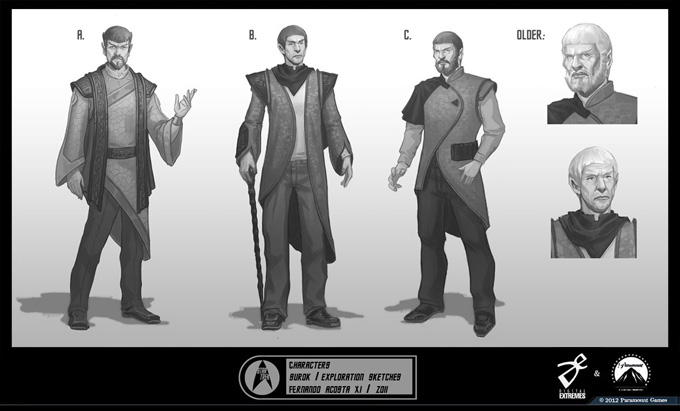 Star Trek Game Concept Art by Fernando Acosta