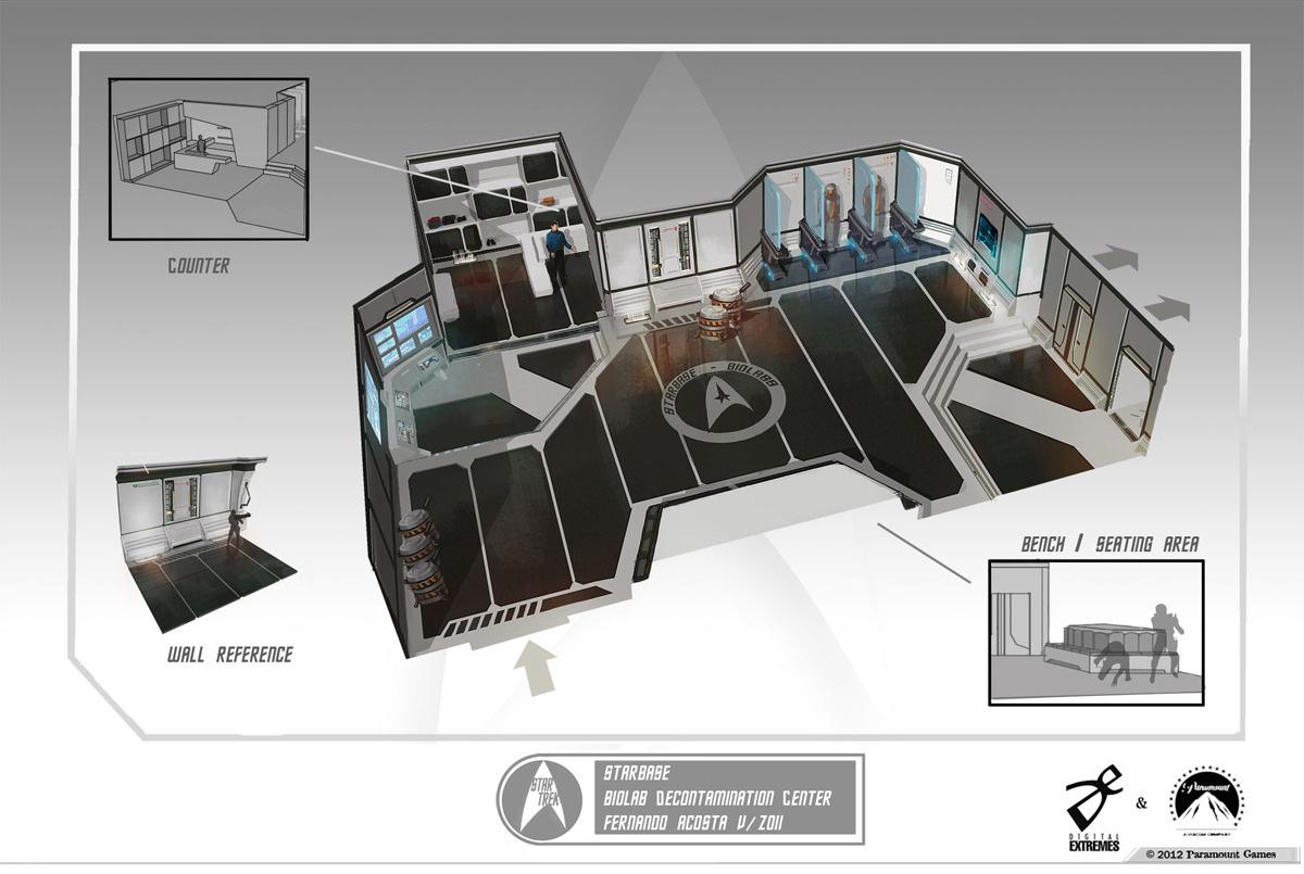 Star Trek Video Game Concept Art By Fernando Acosta