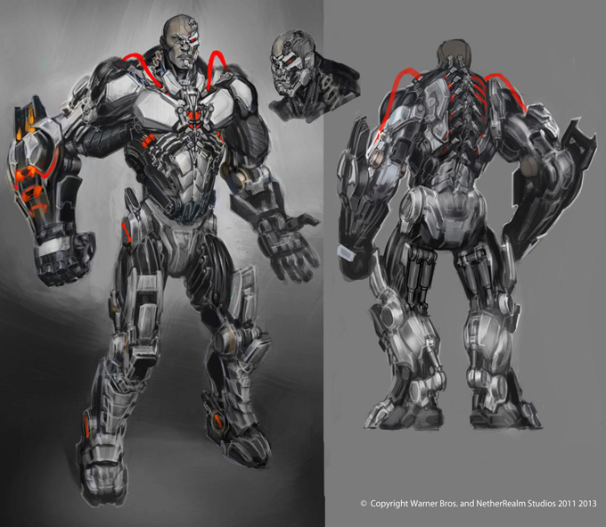 Injustice: Gods Among Us Concept Art by Justin Murray