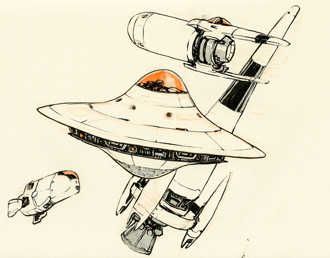 Drawings - Hand picked drawings from the private sketchbooks of comic artist & illustrator Jake Parker
