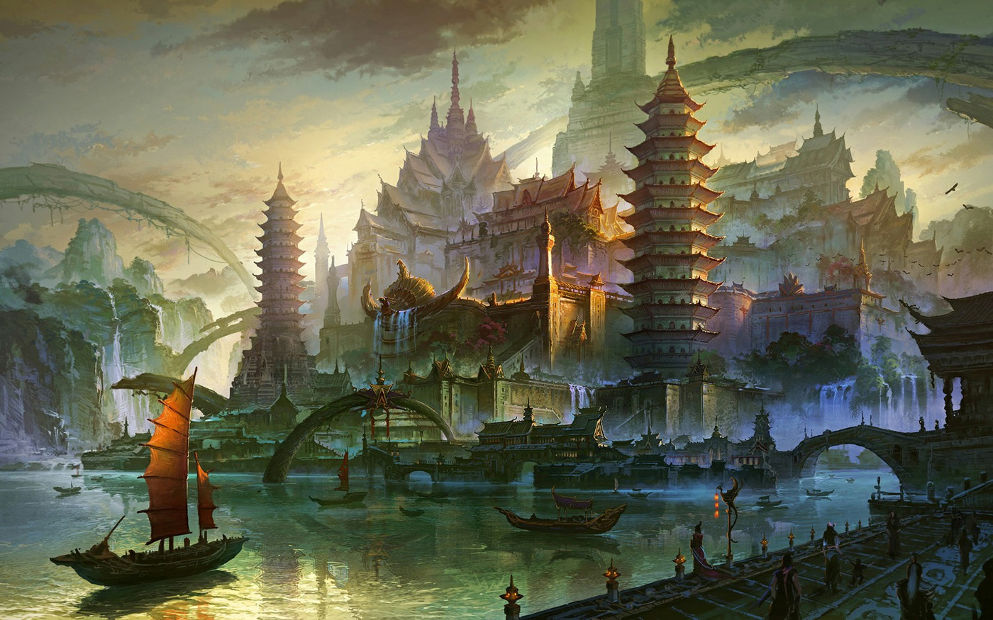 Fan Ming Concept Art World