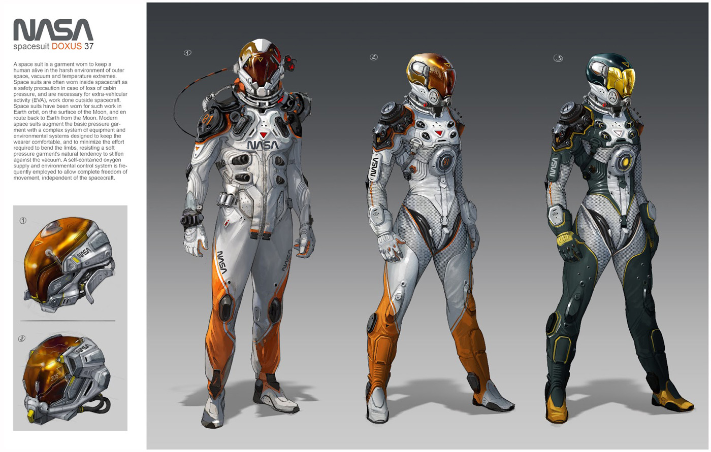 character design references oscars cafaro spaces suits
