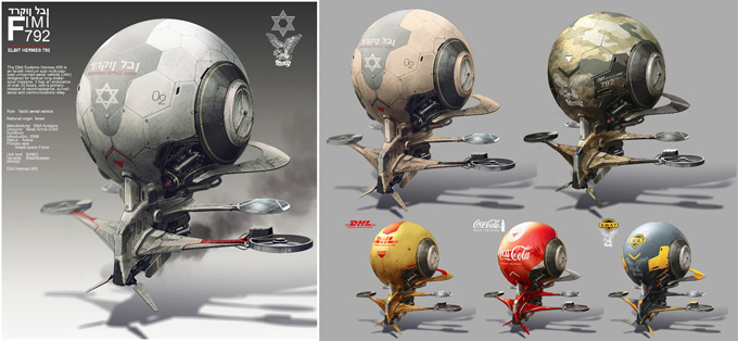 Oscar Cafaro Concept Art and Illustration