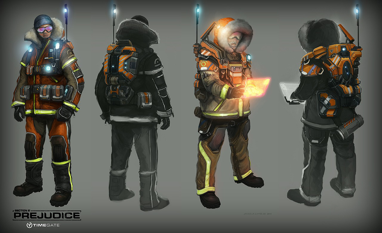 section 8 prejudice concept art by manuel gomez concept art world