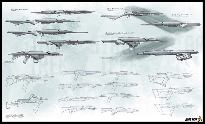 Star Trek Game Video Concept Art by Mike Sebalj