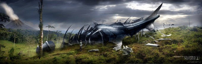 After Earth Concept Art by Dean Sherriff