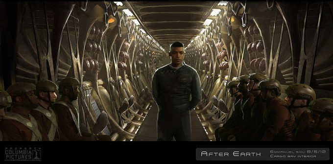 After Earth Concept Art by Emmanuel Shiu