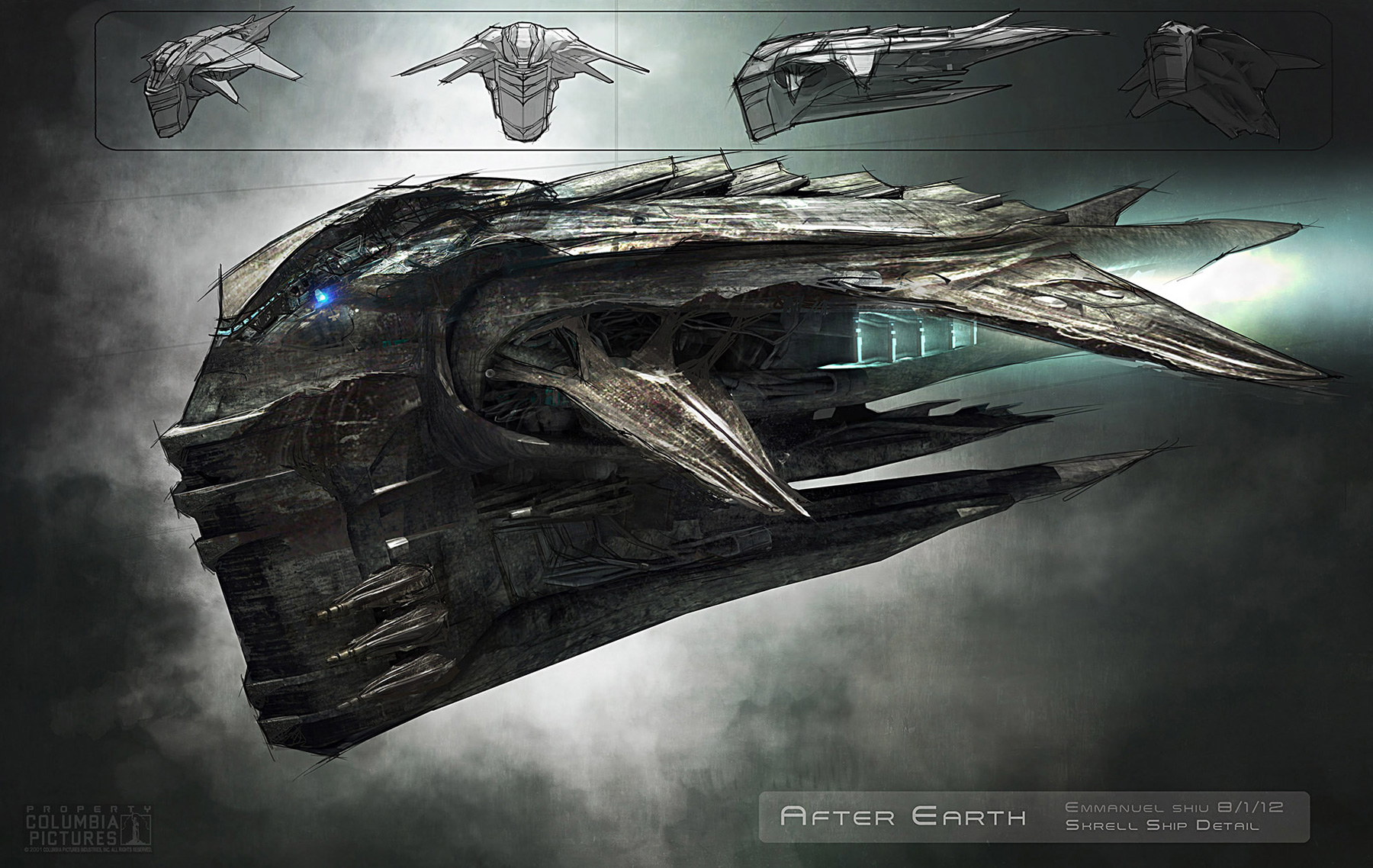 after earth concept art - photo #4