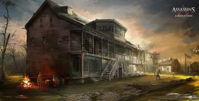 Assassin's Creed III Liberation Concept Art by Nacho Yagüe
