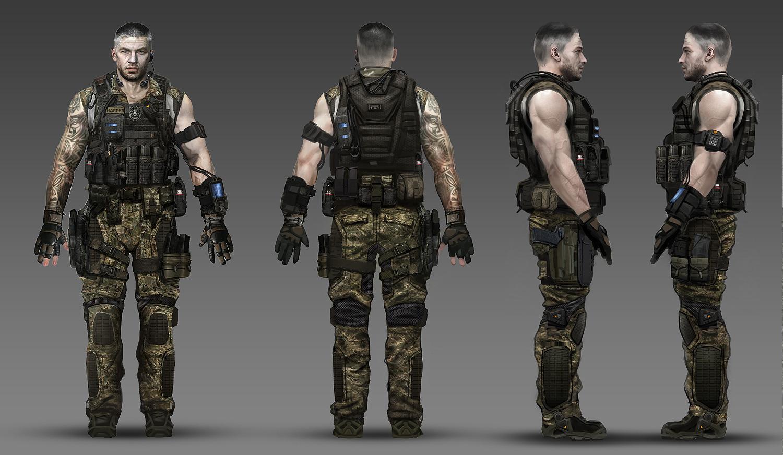 Black Ops 2 Origins Characters