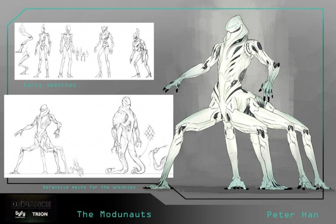 Defiance Concept Art by Peter Han