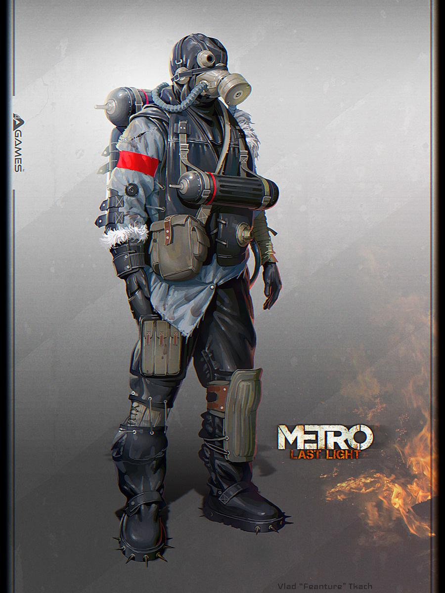 Metro last light concept art by vlad tkach concept art for Concept metal