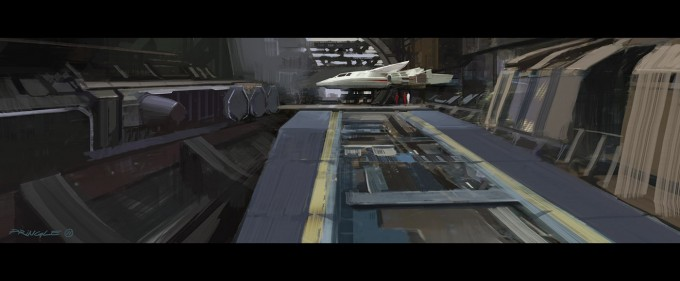 Star Trek Video Game Concept Art by Thomas Pringle