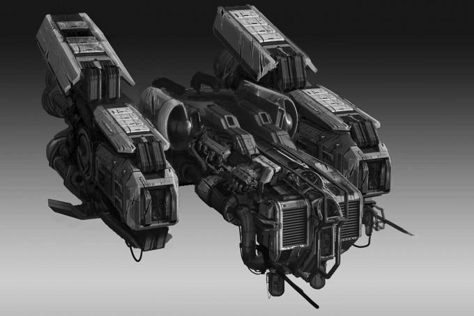 Strike Vector Concept Art by Paul Chadeisson