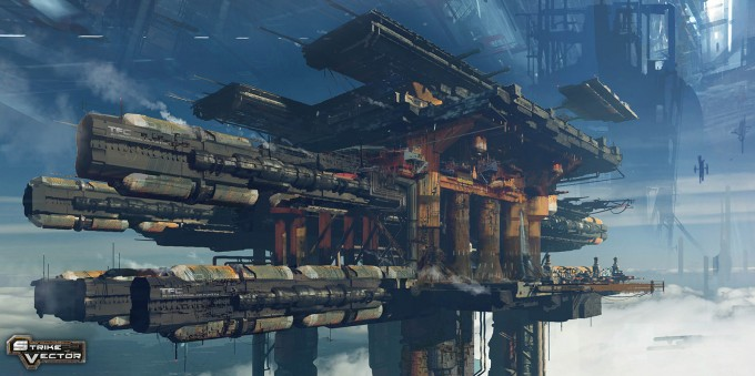 Strike Vector Concept Art by Paul Chadeisson