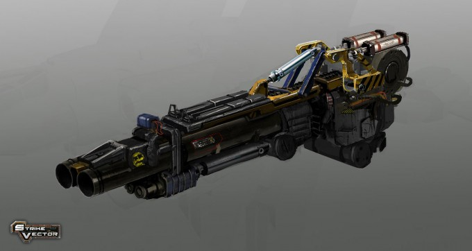Strike Vector Concept Art by Pierre-Etienne Travers