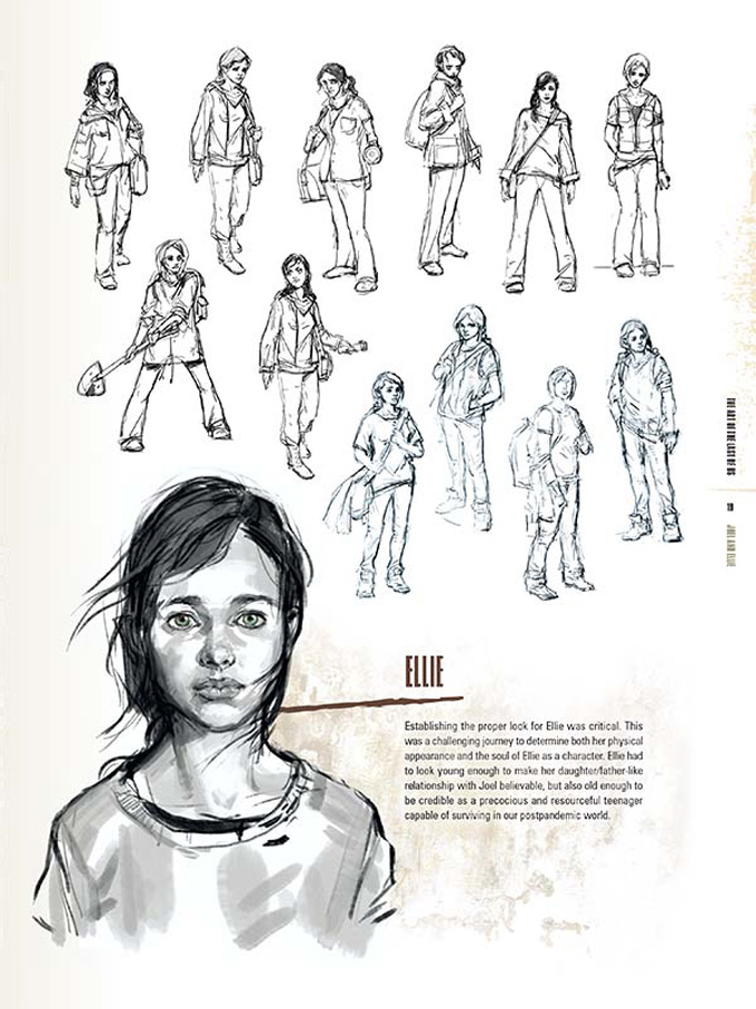The Art Of Character Design Pdf : The last of us ellie concept art pinterest