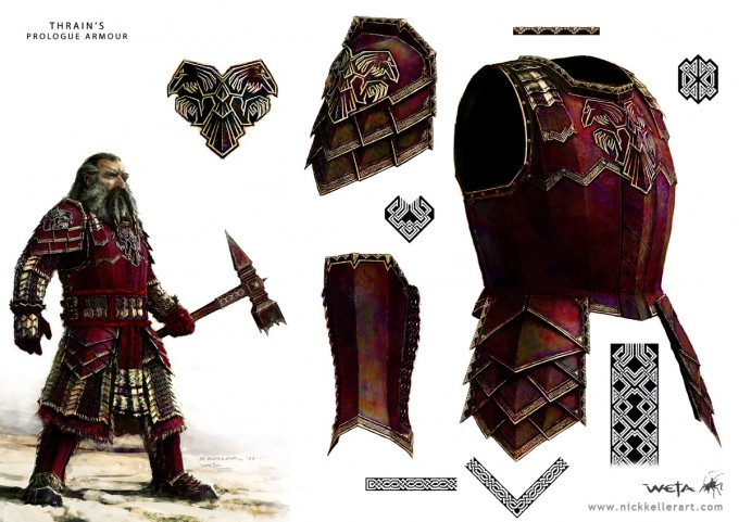 The_Hobbit_An_Unexpected_Journey_Concept_Art_NK_Thrains_Prologue_Armour_Raven_03