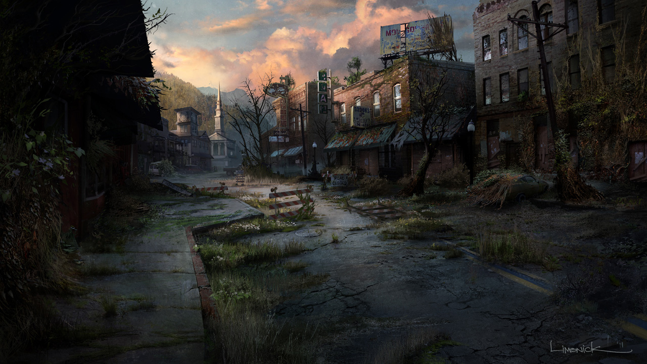 The last of us concept art concept art world - Art village wallpaper ...