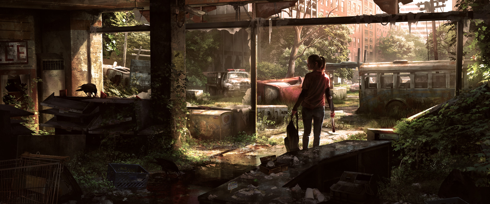 [تصویر:  The_Last_of_Us_Concept_Art_Crows_JS-01.jpg]