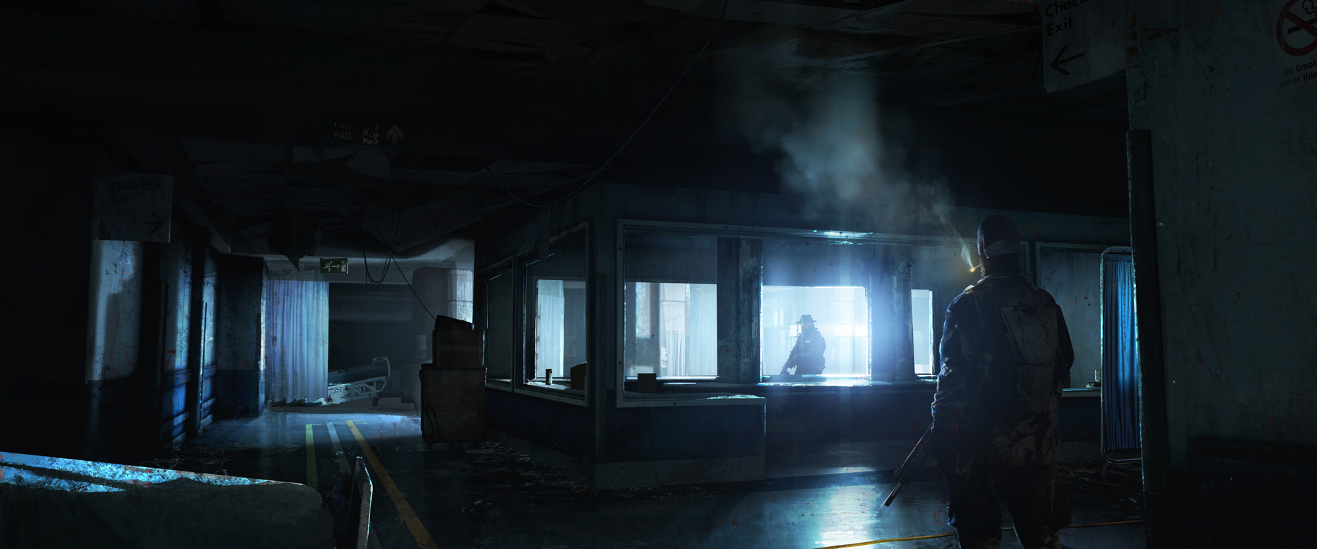 The Last Of Us Concept Art Floodlights Js 01