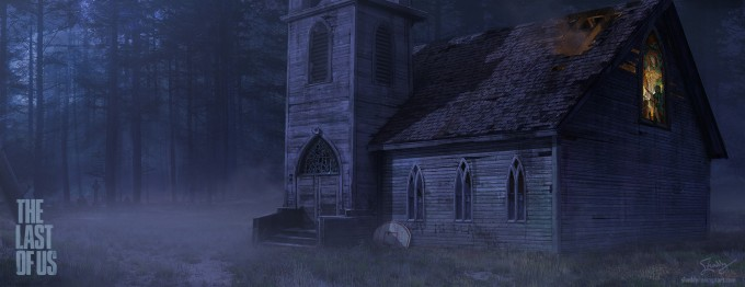 The_Last_of_Us_Concept_Art_Forest_Church_SS-01