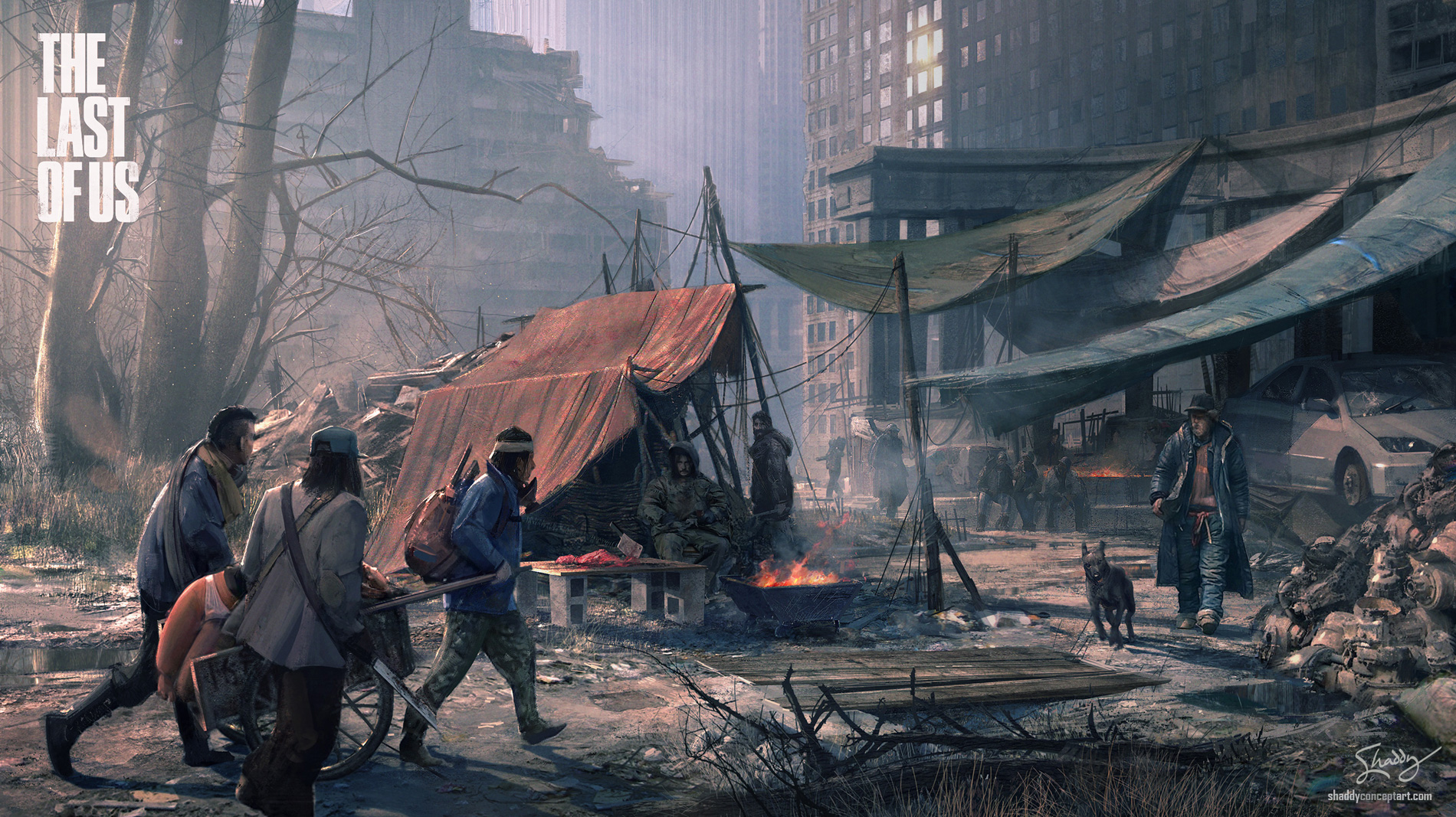 Get The Last Of Us Concept Art  PNG