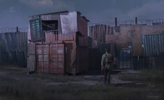 The_Last_of_Us_Concept_Art_Makeshift_Wall_NG-01