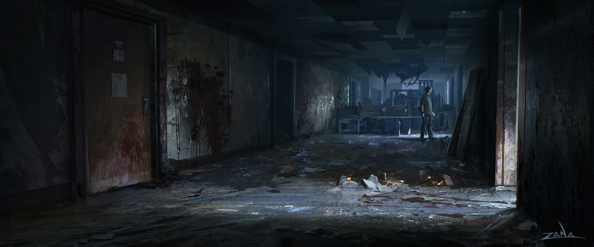 Zombie Apocalypse Wallpaper The Last of Us Concept...
