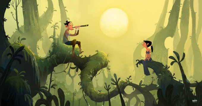 Win Arayaphong Concept Art and Illustration