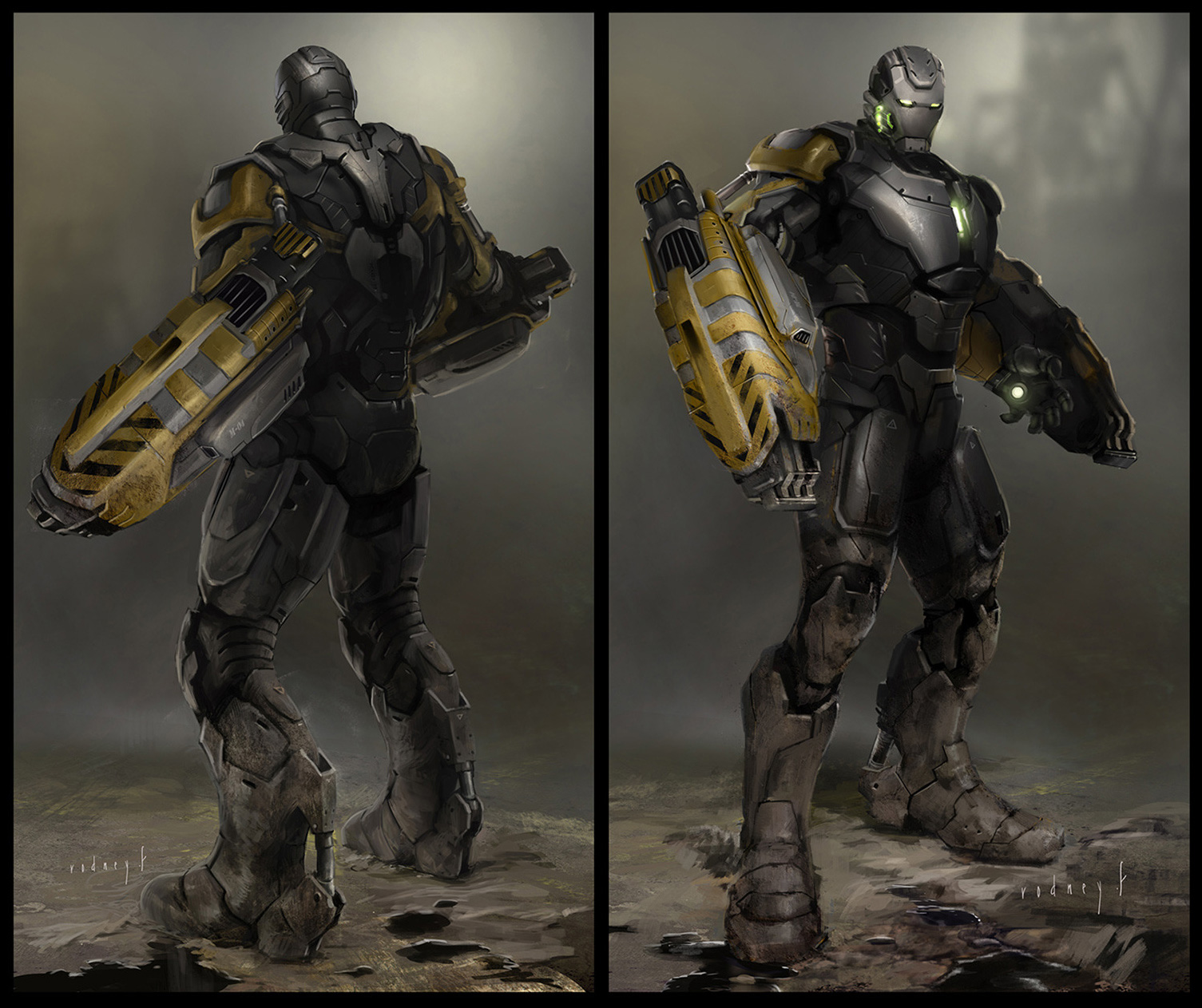 Iron man 3 concept art and illustrations by rodney fuentebella